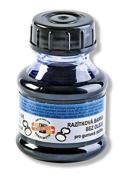 Pečiatková farba obyčajná modrá 50ml