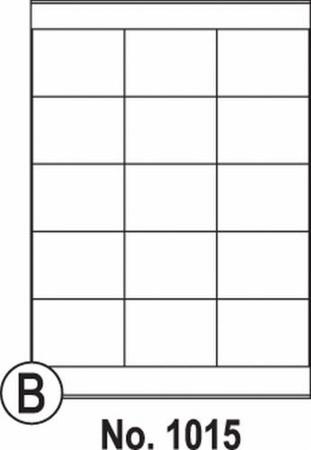 Etikety SOTO 1015, biele, 69.3x50.8