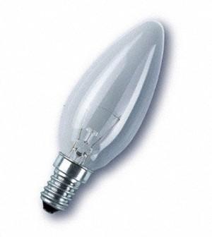 Žiarovka 40W E14 tenký závit - sviečka
