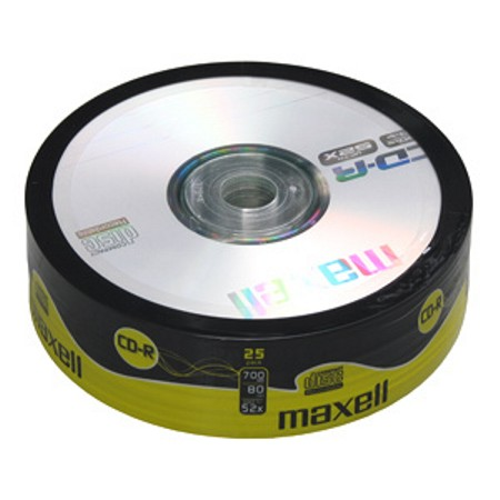CD-R MAXELL spindel/25ks
