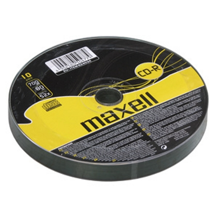 CD-R MAXELL spindel/10ks 52x