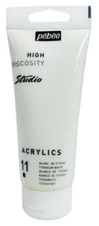 Farba akrylová Studio Acrylic 100ml biela
