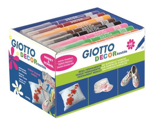 Popisovač GIOTTO decor textil 1ks