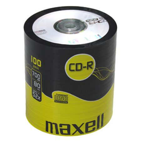 CD-R MAXELL spindel/100ks