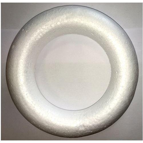 Dekoračný polystyrénový veniec 22cm