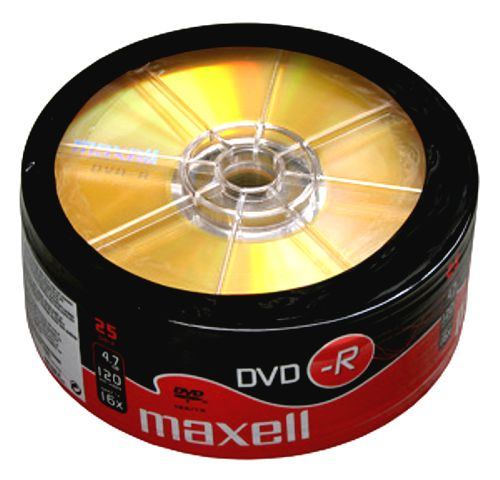 DVD-R MAXELL spindel/25ks