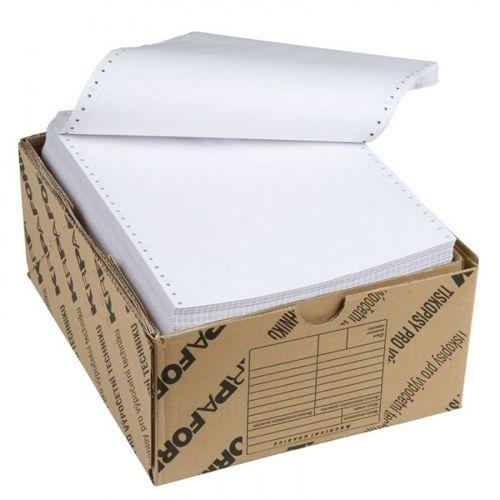 Tabelačný papier s 1+1 kópiami 24x12/1000