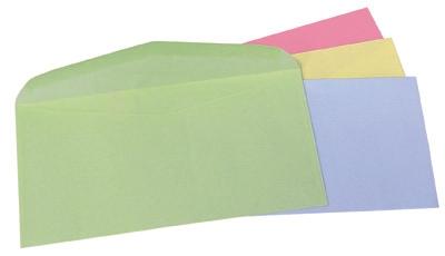 Obálky DL FAREBNÉ pastel ružové 80gr