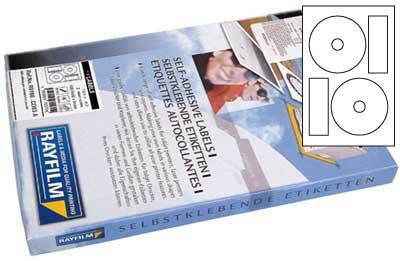 Etikety CD03 RAYFILM 118/41